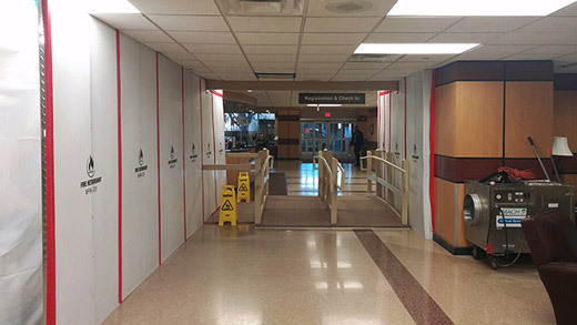Construction Infection Control at a Hospital Emergency Room